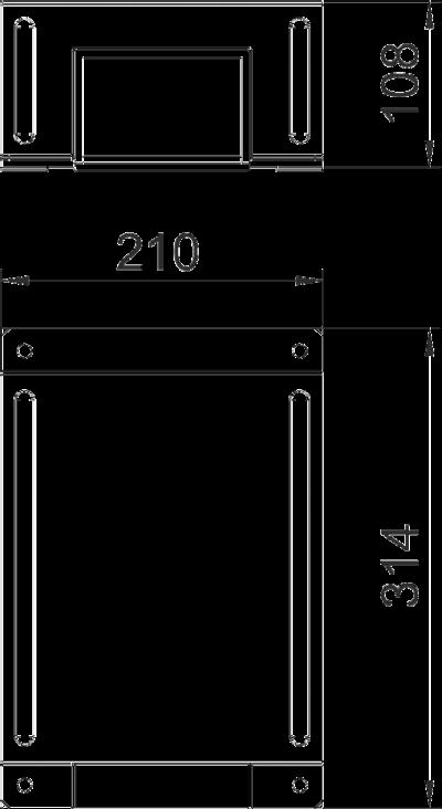 Схема Крышка редукционной Т-образной секции — арт.: 7216466