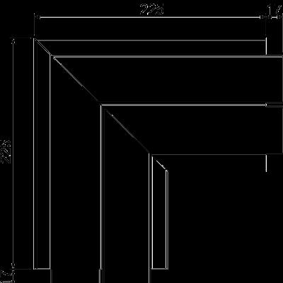Схема Плоский угол — арт.: 6112533