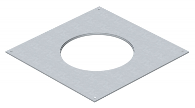 Крышка монтажного основания 350-3 с отверстием для лючка GESR4 — арт.: 7400517