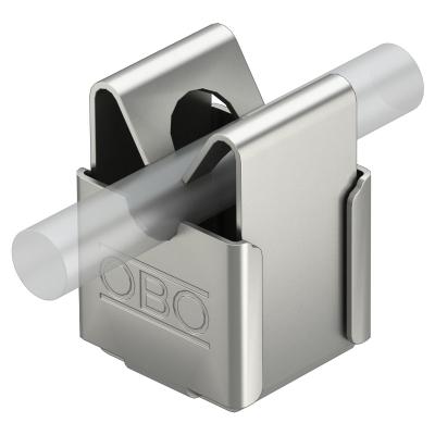 Безболтовой держатель для круглых проводников Rd 8, со сквозным отверстием Ø 7 мм — арт.: 5207347