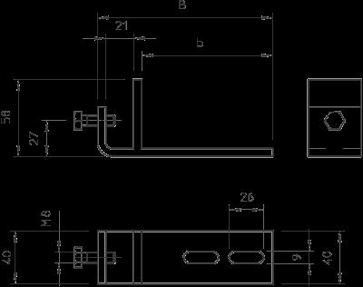 Схема Фиксатор BFK вертикальный — арт.: 6003880