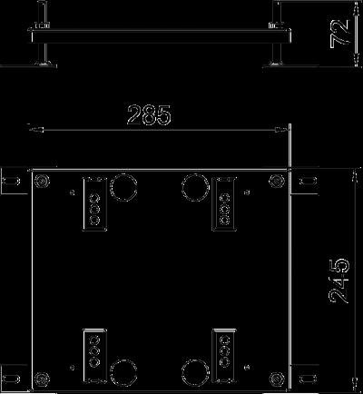 Схема Регулируемая опора для лючков UDHome9 — арт.: 7427444