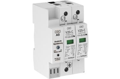 Разрядник для защиты от перенапряжений 2-полюсный, с акустической сигнализацией — арт.: 5096375