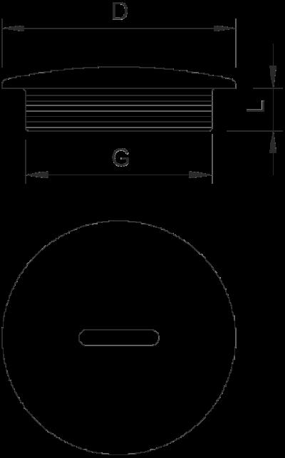 Схема Заглушка с резьбой PG — арт.: 2033070
