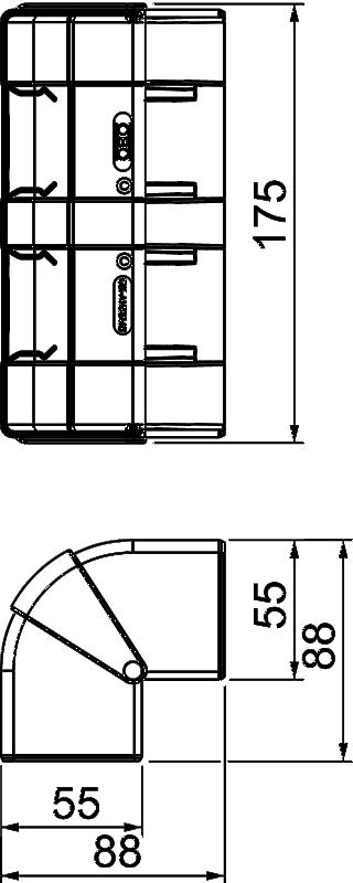 Схема Крышка внешнего угла — арт.: 6113420
