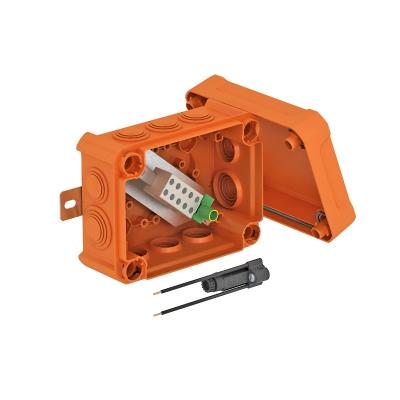 Огнестойкая распределительная коробка FireBox T160ED с наружным креплением, держателем и ударопрочной крышкой — арт.: 7205630