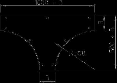 Схема Крышка Т-образной секции — арт.: 6231667