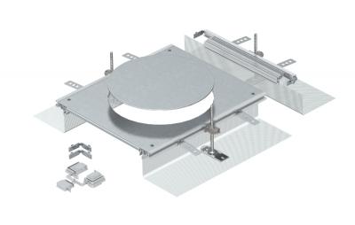 Монтажная секция с крышкой для лючка GESR9, высота 40 — 140 мм — арт.: 7424326