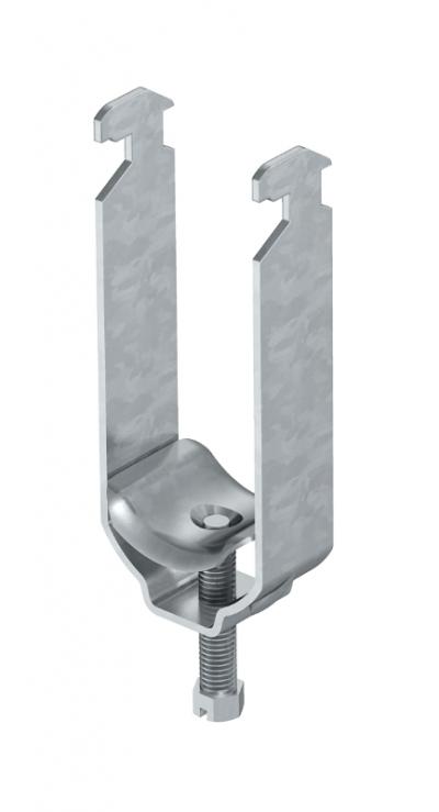 Зажимная скоба 2-секционная, с металлической прижимной пластиной — арт.: 1156179