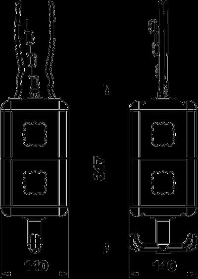 Схема Блок питания VH-8, пустой, с накладками — арт.: 6109820