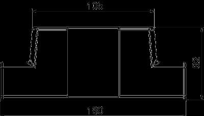 Схема Адаптер для Т-образной секции — арт.: 6113104