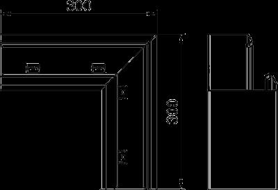 Схема Плоский угол нисходящий — арт.: 6282730