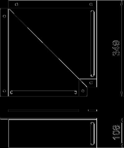 Схема Крышка плоского угла — арт.: 7216430