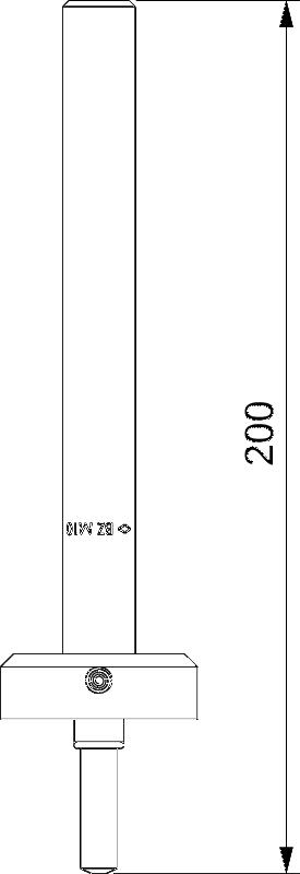 Схема Анкерный болт BZ-IG — арт.: 3498380