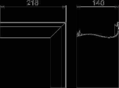 Схема Крышка внутреннего угла Swing — арт.: 6115875