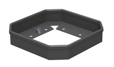 Защитная рамка для электромонтажной колонны ISSHS4 — арт.: 6286810