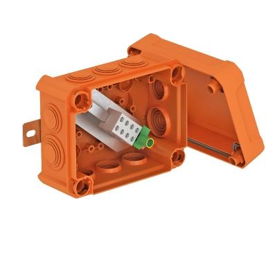 Огнестойкая распределительная коробка FireBox T100ED с наружным креплением и ударопрочной крышкой — арт.: 7205620