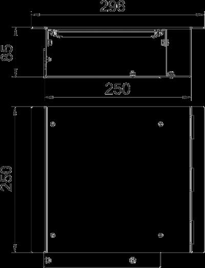 Схема Монтажная секция для прокладки через стену — арт.: 7403890