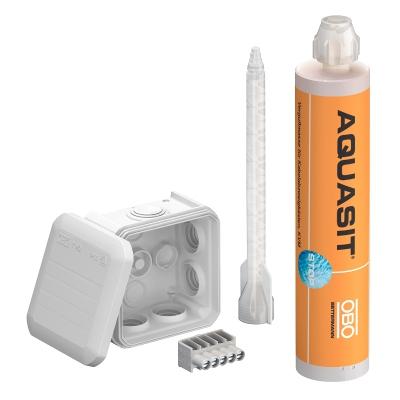 Рспределительная коробка Т40 с установочным набором (Aquasit, клемма), IP 68 — арт.: 2363012