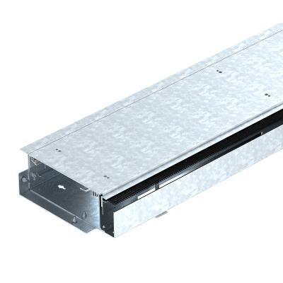 Секция кабельного канала со щеточной планкой, без регулируемых опор — арт.: 7403816