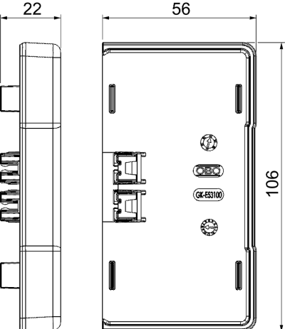 Схема Торцевая заглушка — арт.: 6113114