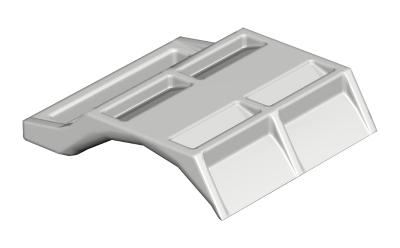 Пластиковая прижимная пластина, универсальная — арт.: 1197126