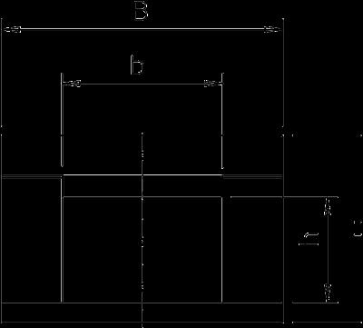 Схема Огнестойкий кабельный канал, класс огнестойкости I120/E90, внутренняя высота 50 мм — арт.: 7215210