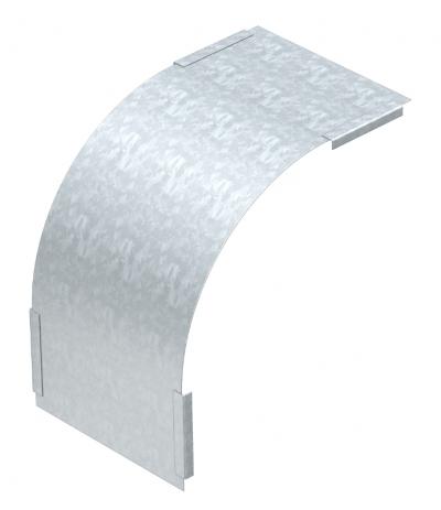 Крышка вертикальной угловой секции 90° нисходящей, с боковой стенкой высотой 35 мм — арт.: 7130760