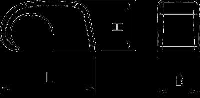 Схема Скоба Haft-Clip, без гвоздя — арт.: 2215306