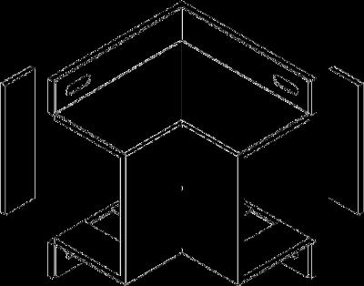 Схема Крышка внутреннего угла — арт.: 7216340