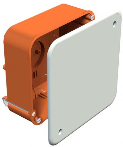 Квадратная монтажная/соединительная коробка для полых стен — арт.: 2003449