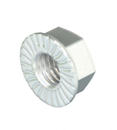 Шестигранная гайка с зубцами — арт.: 3156120