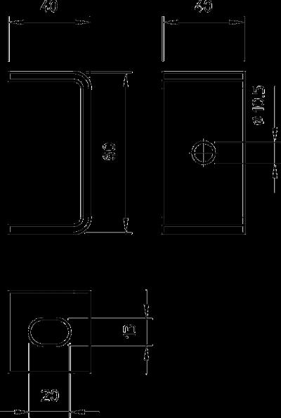 Схема Потолочная скоба — арт.: 6356109