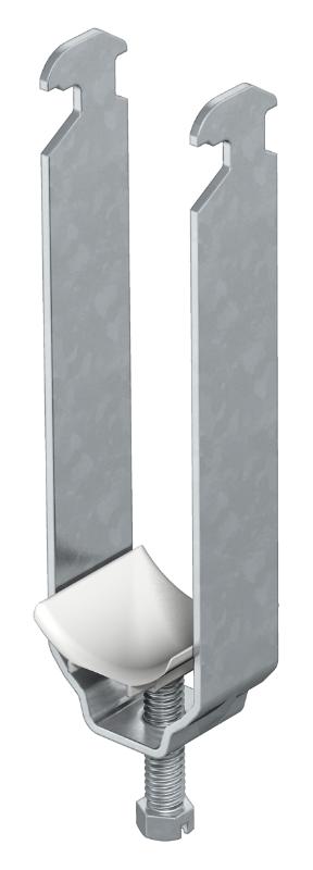 Зажимная скоба 3-секционная, с пластиковой прижимной пластиной — арт.: 1162128