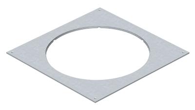 Крышка монтажного основания 350-3 с отверстием для лючка GESR7 — арт.: 7400533
