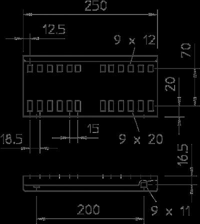 Схема Продольный соединитель — арт.: 6216545