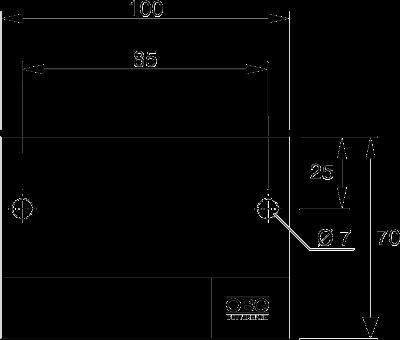 Схема Маркировочная табличка для одиночного кабеля — арт.: 7205420