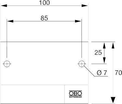 Схема Маркировочная табличка — арт.: 7203140