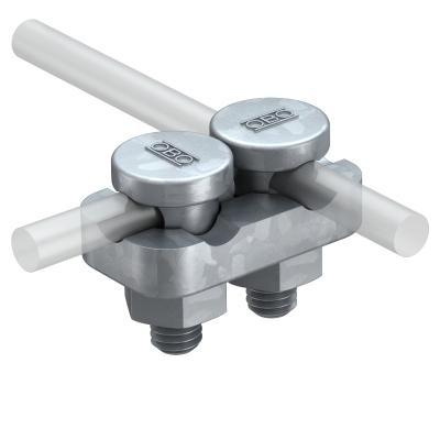 Соединитель для круглых проводников Rd 8-10, двойной — арт.: 5304202