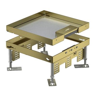 Регулируемая кассетная рамка RKSN с кабельным выводом, из латуни — арт.: 7409212