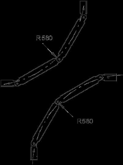 Схема Вертикальный регулируемый угол — арт.: 6205038