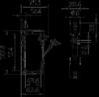 Схема Групповое крепление-захват GRIP 40 — арт.: 2205416