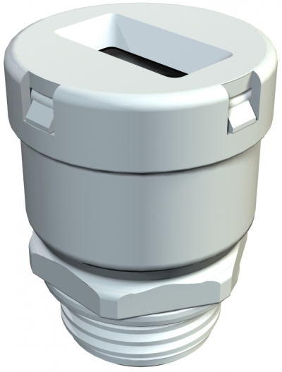 Кабельный ввод для плоского кабеля с метрической резьбой М20 — М40 — арт.: 2013002