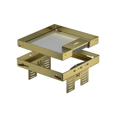 Регулируемая кассетная рамка RKSNUZD3 с кабельным выводом, из латуни — арт.: 7409222