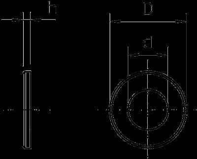 Схема Подкладная шайба широкая — арт.: 3402207