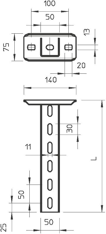 Схема Подвесная стойка US 5 — арт.: 6341527