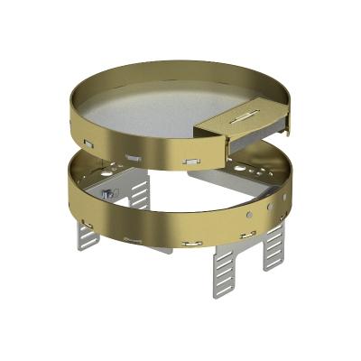 Регулируемая кассетная рамка RKSRNUZD3 с кабельным выводом, из латуни — арт.: 7409282