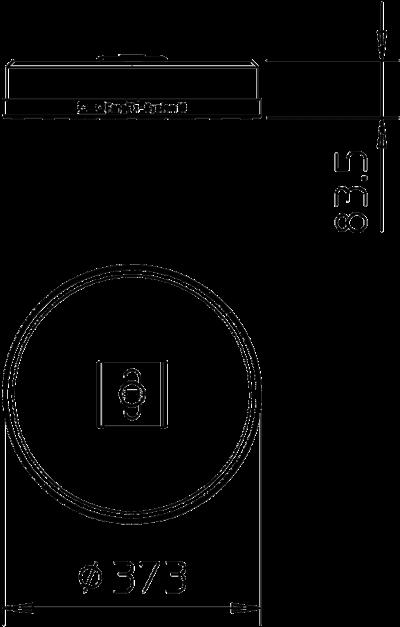 Схема Бетонное основание с креплением TrayFix, 16 кг — арт.: 5403098