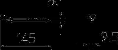 Схема Фиксатор для трапециевидного крепления — арт.: 6357536