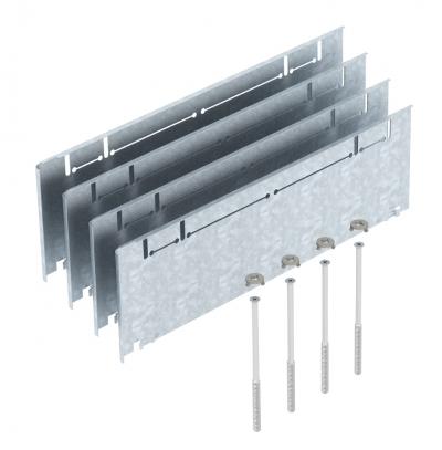 Комплект надставок для увеличения высоты монтажных оснований UZD/UGD350-3 с боковой стенкой высотой 165 — 220 мм — арт.: 7410164